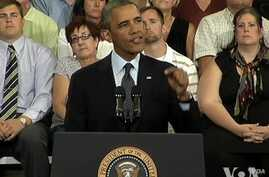 Obama Continues Economic Pitch as Budget, Debt Battles Loom