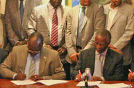 Sudanese Parties Sign Abyei Border Deal