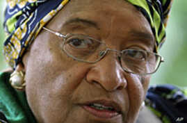 Sirleaf 'Humbled' By Nobel Peace Prize