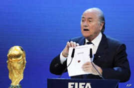Russia to Host World Cup in 2018, Qatar in 2022