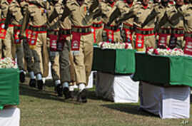 Pakistan Buries Troops Amid Fury Over NATO Strike