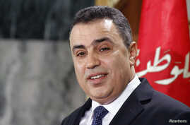 Tunisia's Prime Minister Mehdi Jomaa speaks during a news conference in Tunis, Jan. 26, 2014.