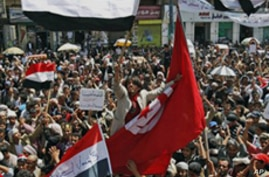 Scores Wounded as Yemeni Protests Intensify