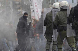 Greeks Protest Austerity Measures While EU Stands Firm