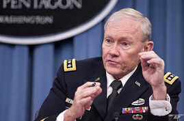 Joint Chiefs Chairman Gen. Martin Dempsey (file photo)