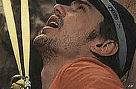 Actor James Franco in '127 Hours'