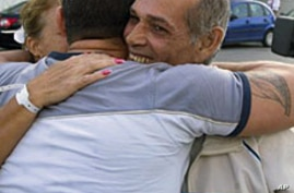 Freed Cuban Dissidents Arrive in Spain