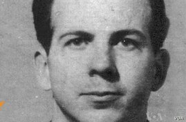 Oswald was sent from Moscow by Soviet authorities to work at a Minsk radio factory.
