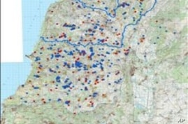 Israeli Military Releases Map of Alleged Hezbollah Arms Depots