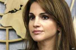 Jordanian Queen: Despair Must Not Prevail in Middle East Peace Process