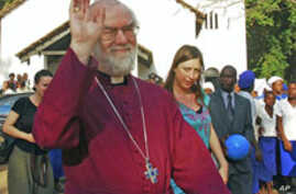 Archbishop of Canterbury to Pray in Zimbabwe