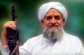 File - A photo of al-Qaida's new leader, Ayman al-Zawahiri, is seen in this still image taken from a video released in September 2011.