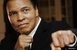 FILE - U.S. boxing great Muhammad Ali was hospitalized December 20 for treatment of a urinary tract infection.