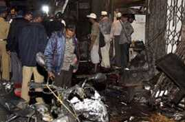 Indian Officials Blame 'Terrorists' for Deadly Mumbai Blasts