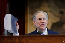 """Texas Gov. Greg Abbott welcomed the judicial ruling blocking President Barack Obama's order on immigration, saying that """"in Texas, we will not sit idly by while the president ignores the law and fails to secure the border,"""" Feb. 17, 2015."""