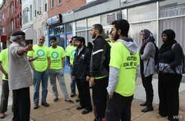 Baltimore: ICNA volunteers