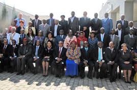 Participants at the fiver-ever AU sponsored International Conference on Maternal, Newborn and Child Health in Johannesburg. Credit: AU