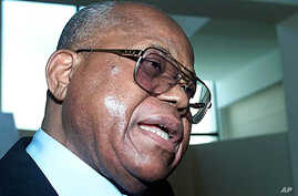 Congolese opposition party politician Etienne Tshisekedi (file photo)