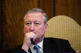 "Philadelphia Mayor Jim Kenney, seen in a Dec. 18, 2017 photo,  called the U.S. District Court ruling a ""total and complete victory."""