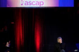 Rodney Crowell accepts the The ASCAP Founders Award during the 55th Annual ASCAP Country Music Awards at the Ryman Auditorium, Nov. 6, 2017, in Nashville, Tennessee.
