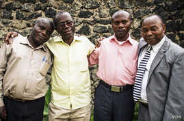 Members of a DRC village peace committee: Credit: World Relief