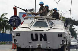 UN Troops in Ivory Coast Under Increasing Pressure