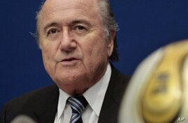 FIFA President Urges Brazil to Speed Up 2014 World Cup Preparations