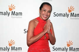 Author and human rights advocate Somaly Mam attends the Somaly Mam Foundation Gala in New York, Oct. 23, 2013