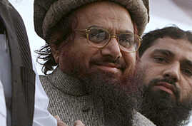 Hafiz Mohammad Saeed, the leader of a banned Islamic group
