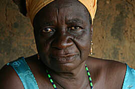 There are a half dozen witch camps in the West African nation of Ghana.
