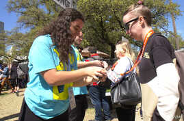 At the recent South by Southwest music, tech and movie festival, all attendees had badges that needed to be scanned before they could enter a venue.