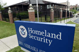 FILE - Homeland Security Department headquarters in northwest Washington.