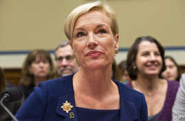 "FILE - Planned Parenthood Federation of America President Cecile Richards, shown testifying before Congress in September, says her organization changed its policy on accepting expense money for aborted fetal tissue ""to take away any basis for attacki..."