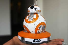 Star Wars - inspired Sphero's BB-8 droid toy.