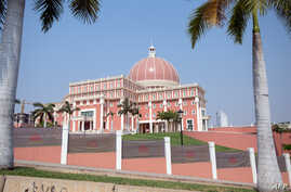 A view of the National Assembly, in Luanda, Angola July 3, 2015.