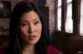 """Sheryl WuDunn, a co-author of """"A Path Appears"""" with her husband and fellow journalist Nicholas Kristof."""