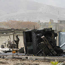13 NATO Troops Killed in Afghanistan Suicide Attack