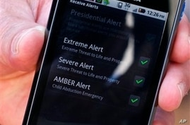 US Launches Cell Phone Emergency Alert System