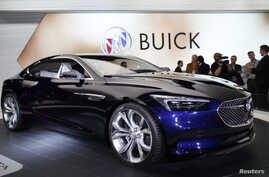 FILE – GM unveils its Buick Avista concept car at the Nort