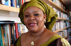 """Nobel Peace Prize winner Leymah Gbowee poses in New York October 7, 2011. Ellen Johnson-Sirleaf, Africa's first freely elected female head of state, shared the $1.5 million with compatriot Leymah Gbowee, who led a """"sex strike"""" among her efforts again"""