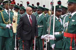 Nigeria South Africa President