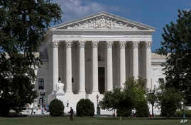 FILE - The U.S. Supreme Court is seen in Washington, June 26, 2017.