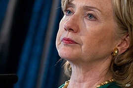 US Secretary of State Hillary Clinton (File)
