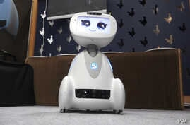 Meet Buddy, created by Blue Frog Robotics, a French-based company. Buddy can patrol a home and alert residents to an intruder or a fire.