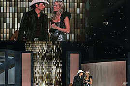 Paisley Wins Top Honor at Country Music's Biggest Night