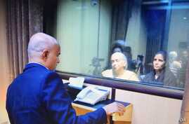 Convicted Indian spy Kulbhushan Jadhav met his wife and mother in Islamabad, Pakistan, Dec. 25, 2017. (Courtesy Pakistan Foreign Ministry)