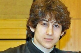 Undated photo of Dzhokhar Tsarnaev.