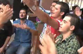 First Day After Revolution is Reason to Party For Libyan Students