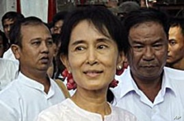 Aung San Suu Kyi Notes Parallels Between Middle East and Burma