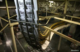Copies of the last edition of Hungarian broadsheet daily Magyar Nemzet, will close its operations from Wednesday after 80 years in print, are printed in a printing house in Budapest, Hungary, April 10, 2018.